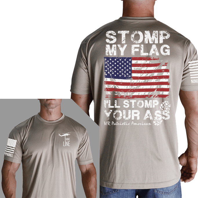 8a80de79 Nine Line - I'll Stop You Moisture Wicking T-Shirt Gov't & Military ...