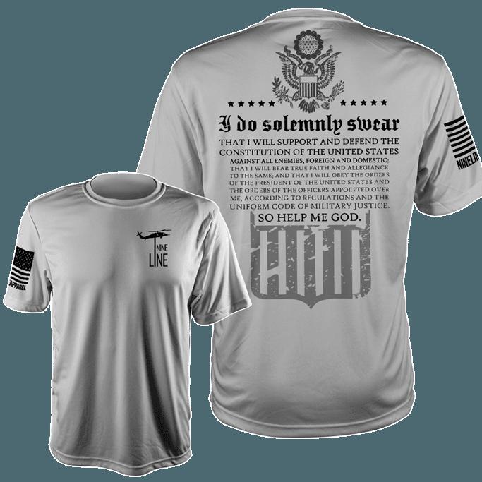 Nine Line Apparel - Men's The Oath Moisture Wicking T-Shirt