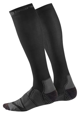 Picture of Men's Essentials Compression Socks - Black/Charcoal - XS