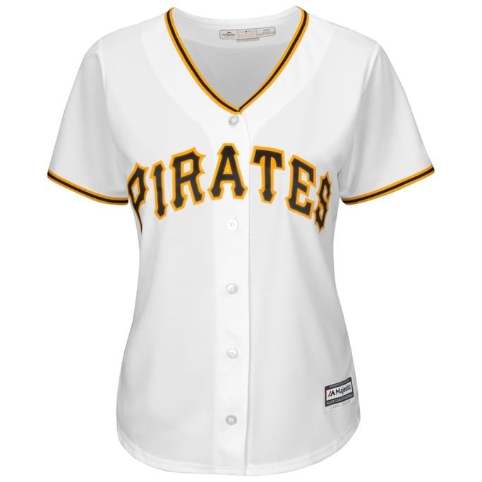 huge discount 21413 458df MLB - Men's Pirates Replica Home Jersey | Gov't & Military ...
