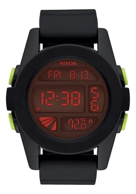 Picture of Unit Watch - All Black / Red