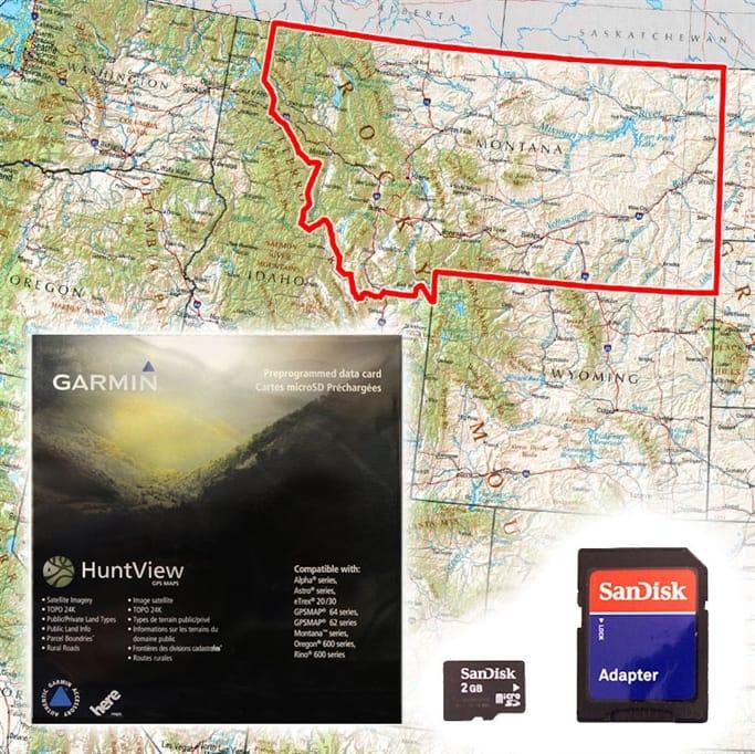 Garmin - HuntView Map Card