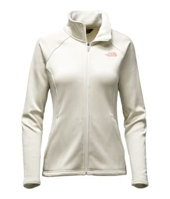 Picture of Women's Agave Full Zip - Vintage White Heather - XS