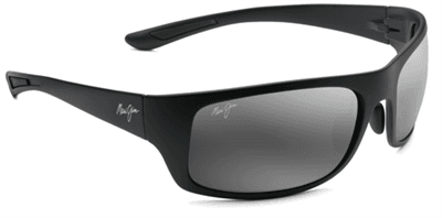 Picture of Big Wave Sunglasses - Matte Black - Neutral Grey