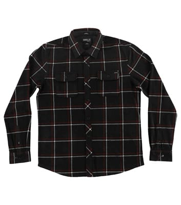 Picture of Men's Glacier Series Two Long Sleeve Shirt - Black - XL
