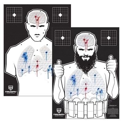 Picture of Threat Down Reactive Target Bundle - 3 Humanoid & 3 Terrorist