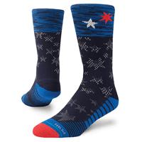 Picture of Men's United Crew Socks - Navy - L