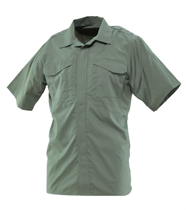 63feaec89 Men's 24-7 Series® Ultralight Uniform Short Sleeve Shirt - 65/35  Polyester/Cotton Rip-Stop