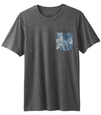 Picture of Men's PrAna Pocket T-Shirt - Gravel - L