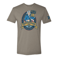 Picture of Men's Independence IPA T-Shirt - Warm Grey - XL