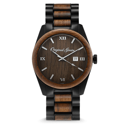 Picture of Men's Ebony Black Classic 43MM Watch - Ebony/Black