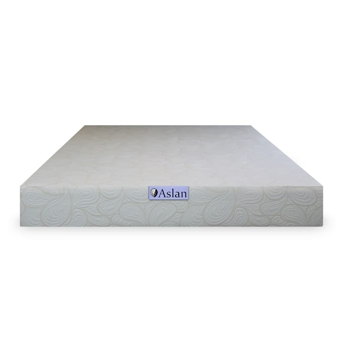 Aslan Mattress 10 Gel Memory Foam Mattress Cal King Military