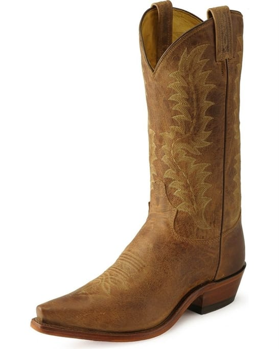 a887b7ef6fc Tony Lama - Men's Tan Saigets Worn Goat Boots - 6979 Military ...