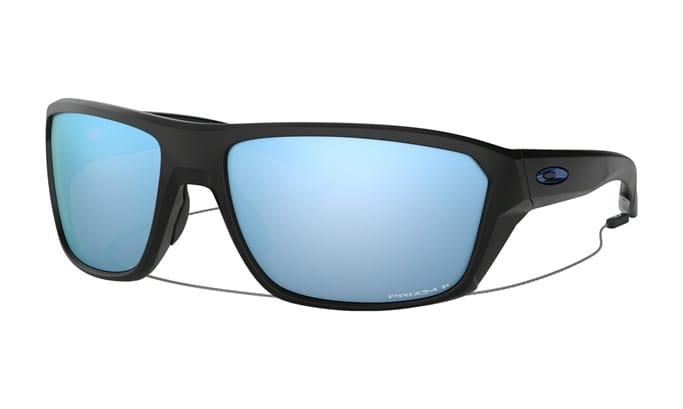 b7b1a780bd184 Split Shot Prizm Sunglasses - Matte Black Prizm Deep Water Polarized