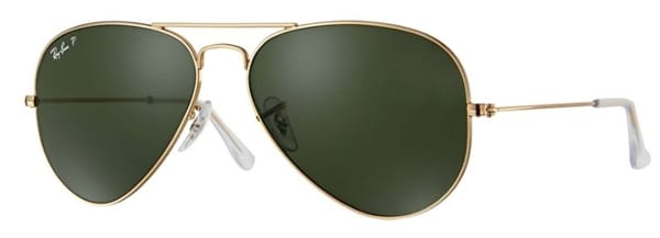 939d7e7b761 Ray-Ban - Aviator Classic Polarized Sunglasses Gov t   Military Discount