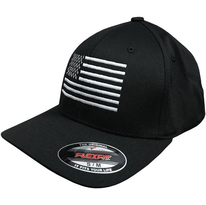 Eagle Six Gear - American Flag Flexfit Hat - Military & Gov't