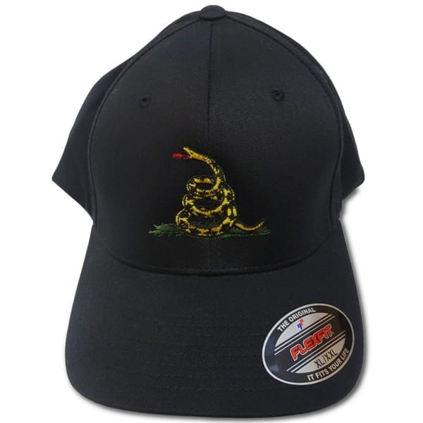 a9a5e76056c5a Eagle Six Gear - Don t Tread on Me Flexfit Hat - Military   Gov t Discounts