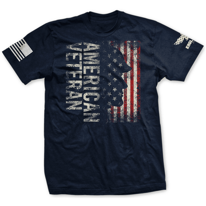 c331cda7ff Eagle Six Gear - Men's American Veteran T-Shirt - Discounts for ...