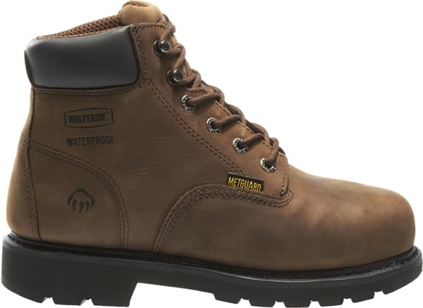 "d4d55200b80 Wolverine - Men's Mckay Waterproof Steel-Toe 6"" Work Boots ..."